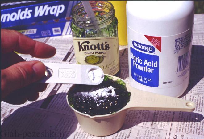 تاثیرات اسید بوریک بروی گیاهان