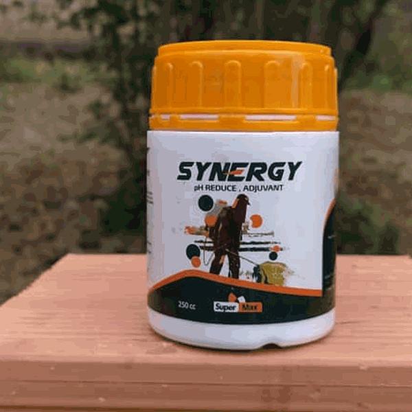 کاهنده pH و پایدار کننده سم و کود سینرژی شرکت سوپرمکس 250 سی سی